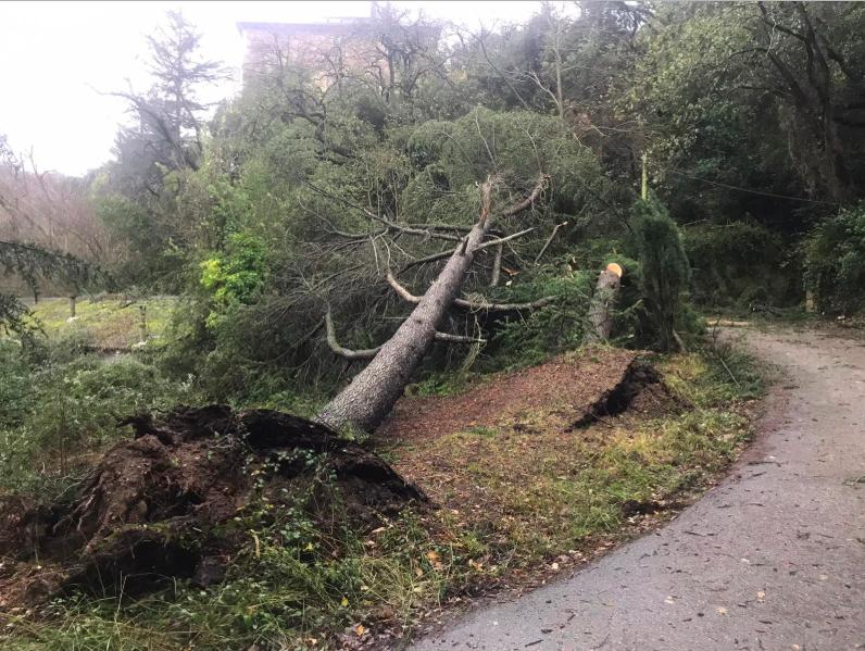 Sant Cugat segueix en l'alerta pel risc de pluges fortes a la ciutat