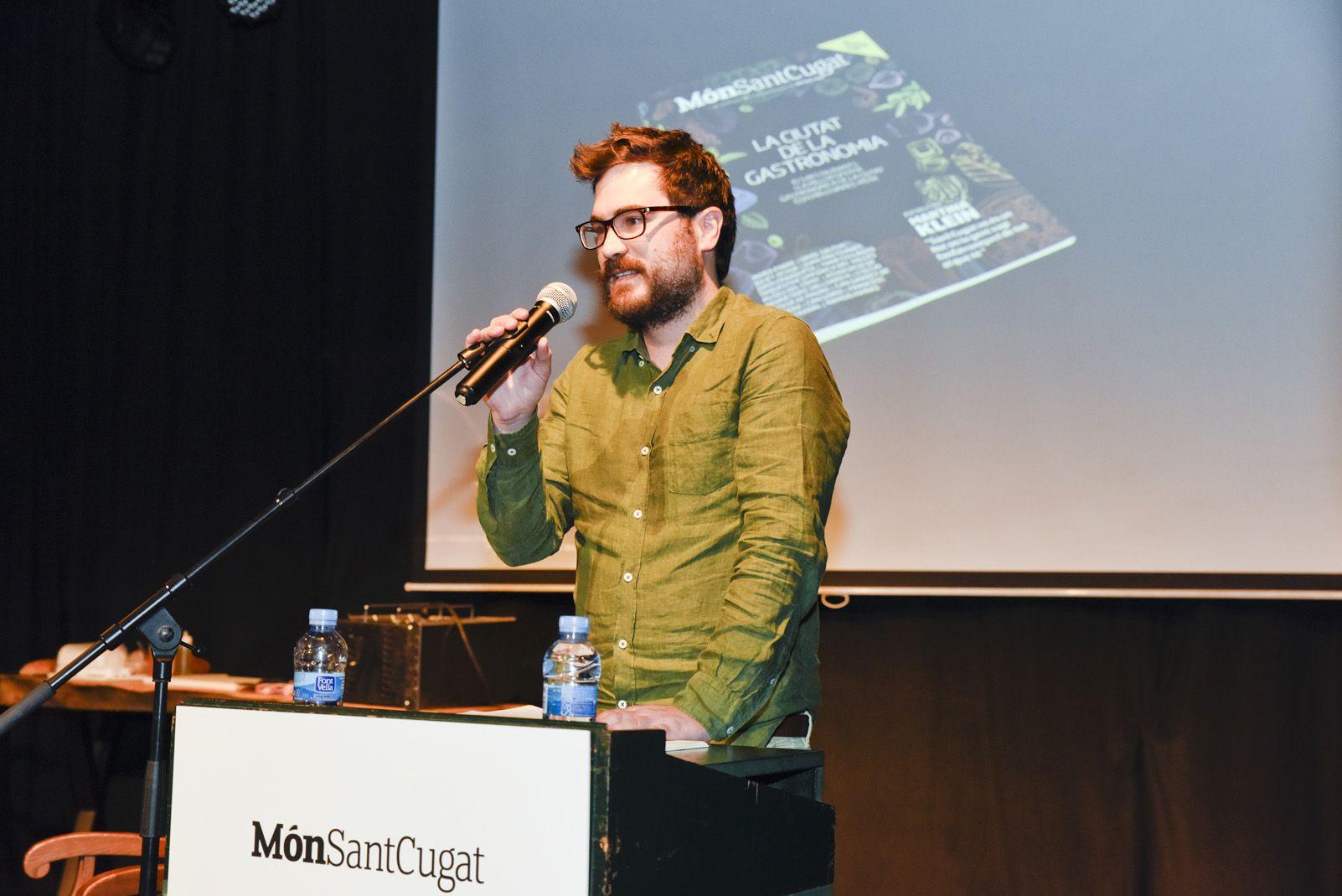 Presentació 8 revista Món Sant Cugat. Foto: Bernat Millet.