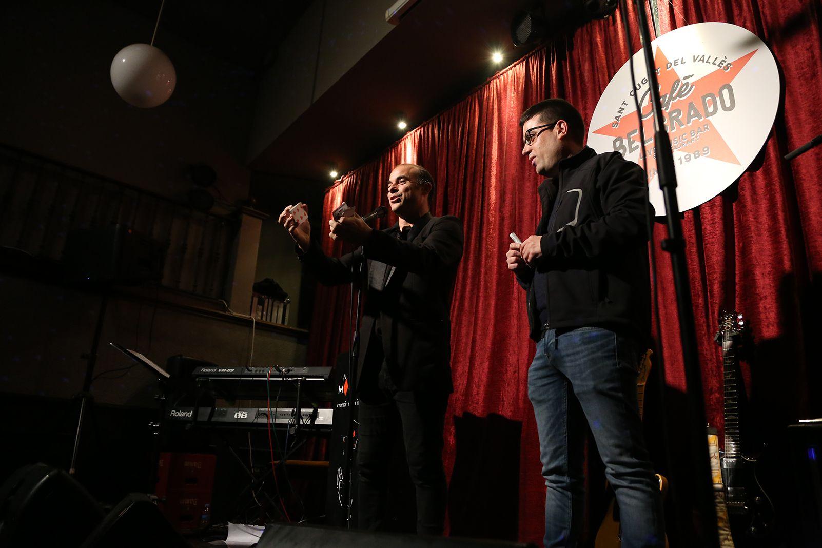 Concert del 30è aniversari Cafè Belgrado: Manel Fuentes. FOTO: Anna Bassa