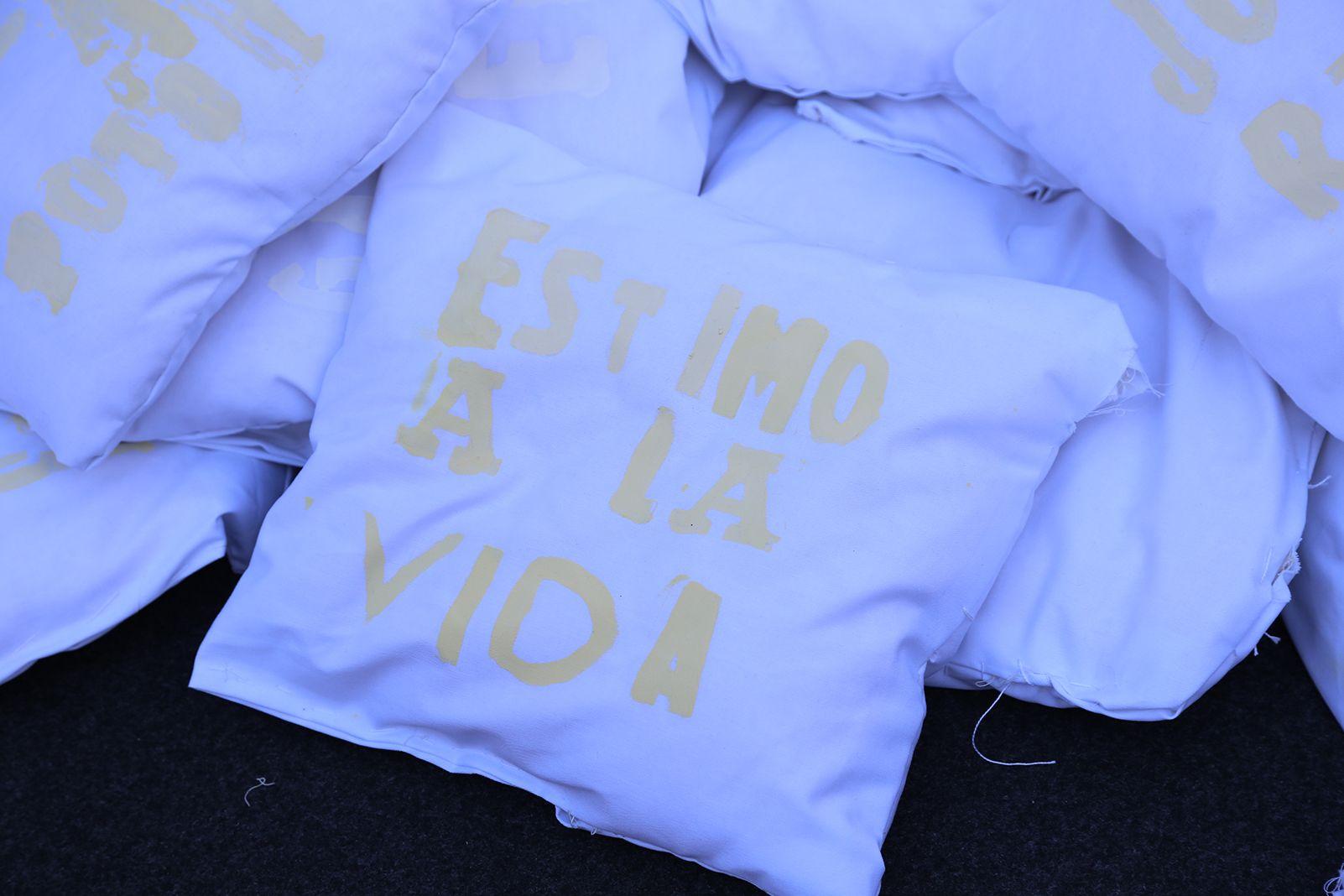 """Dia Escolar de la No-Violència i la pau """"Estar bé"""". FOTO: Anna Bassa"""
