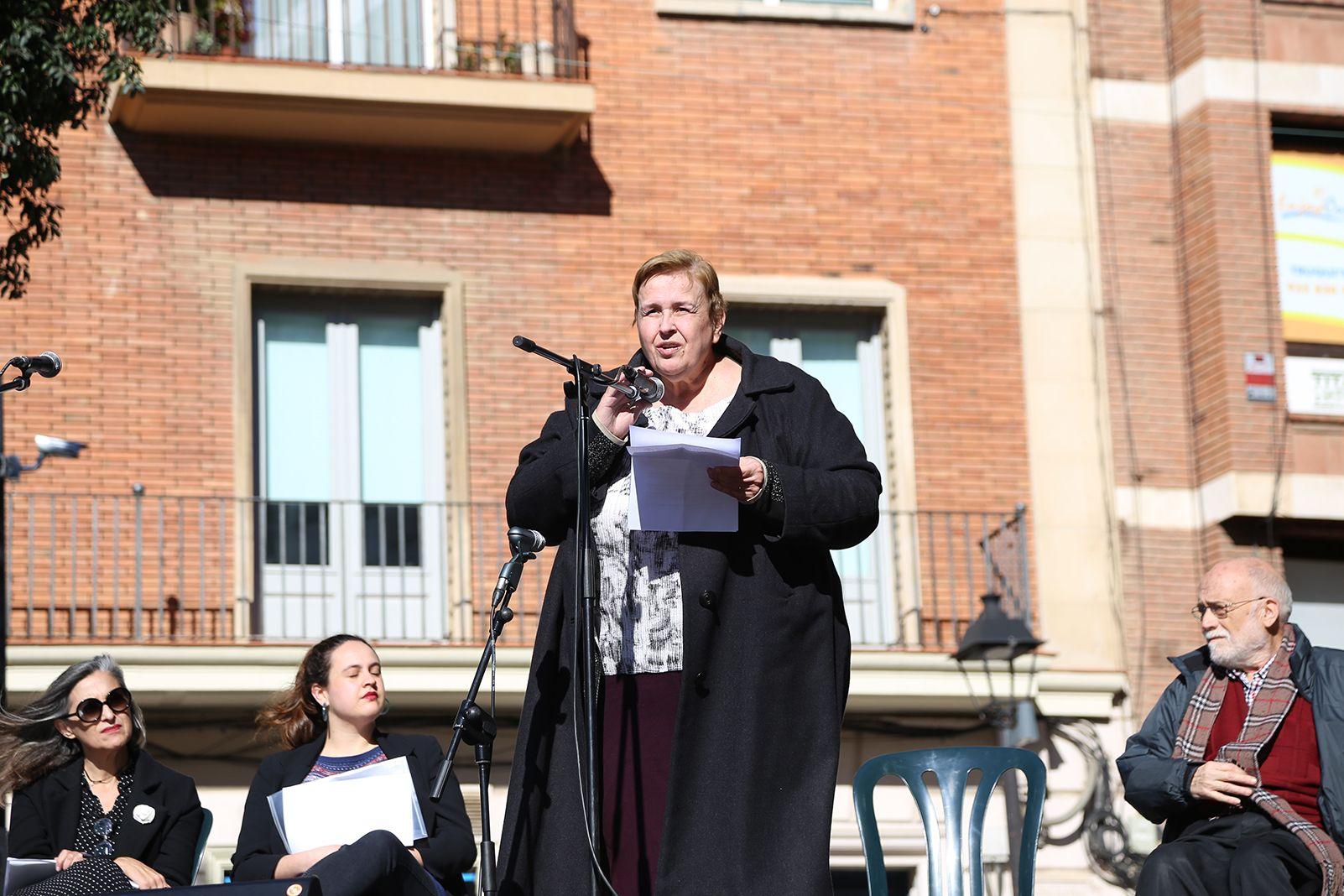 Diada per la No-Violència a Sant Cugat. foto: Anna Bassa