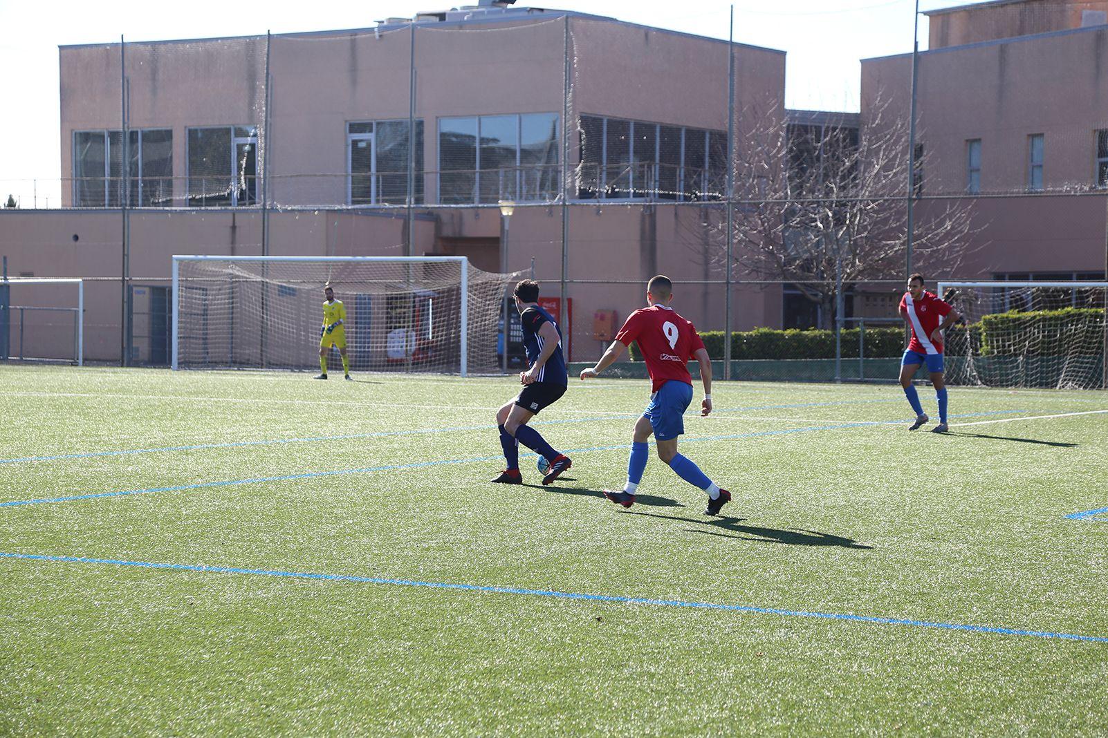 Partit de lliga Atlètic Junnior FC-CD Almeda. FOTO: Anna Bassa