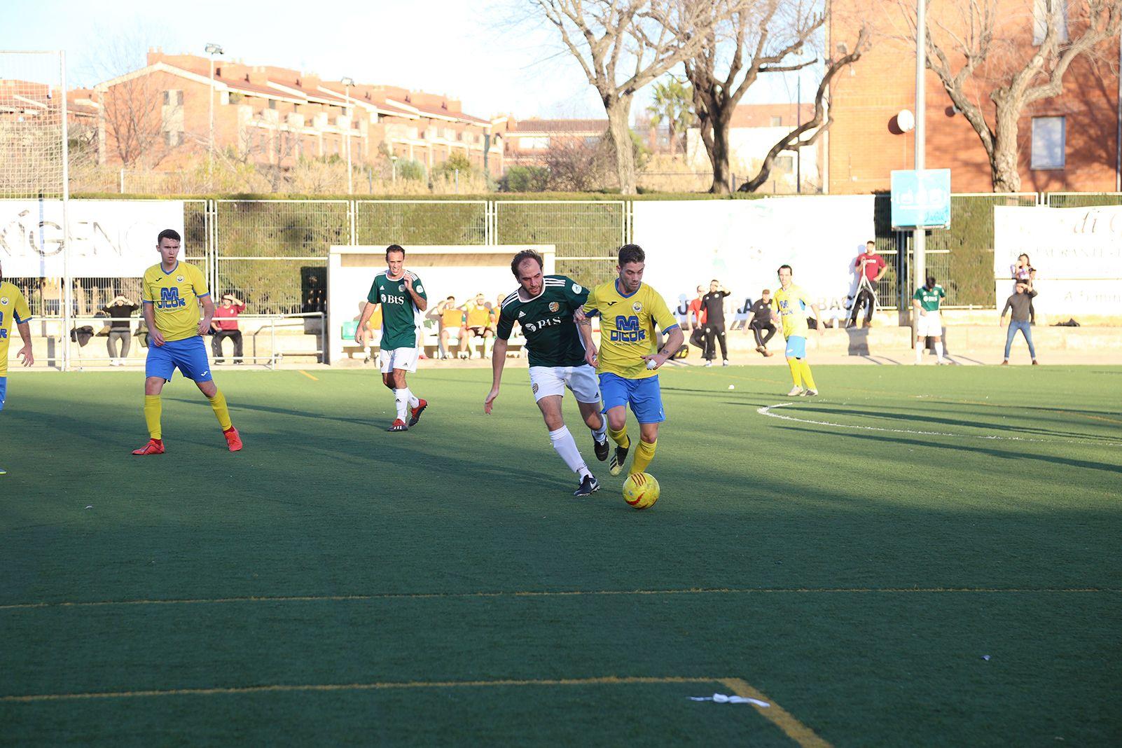 Partit de lliga Valldoreic FC-UD San Mauro. FOTO: Anna Bassa