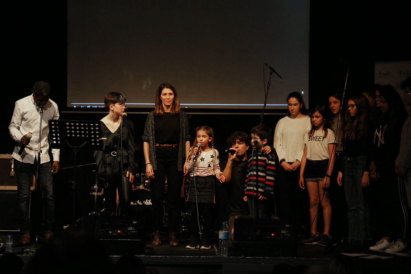 Concert solidari pel càncer infanfantil. FOTO: Anna Bassa