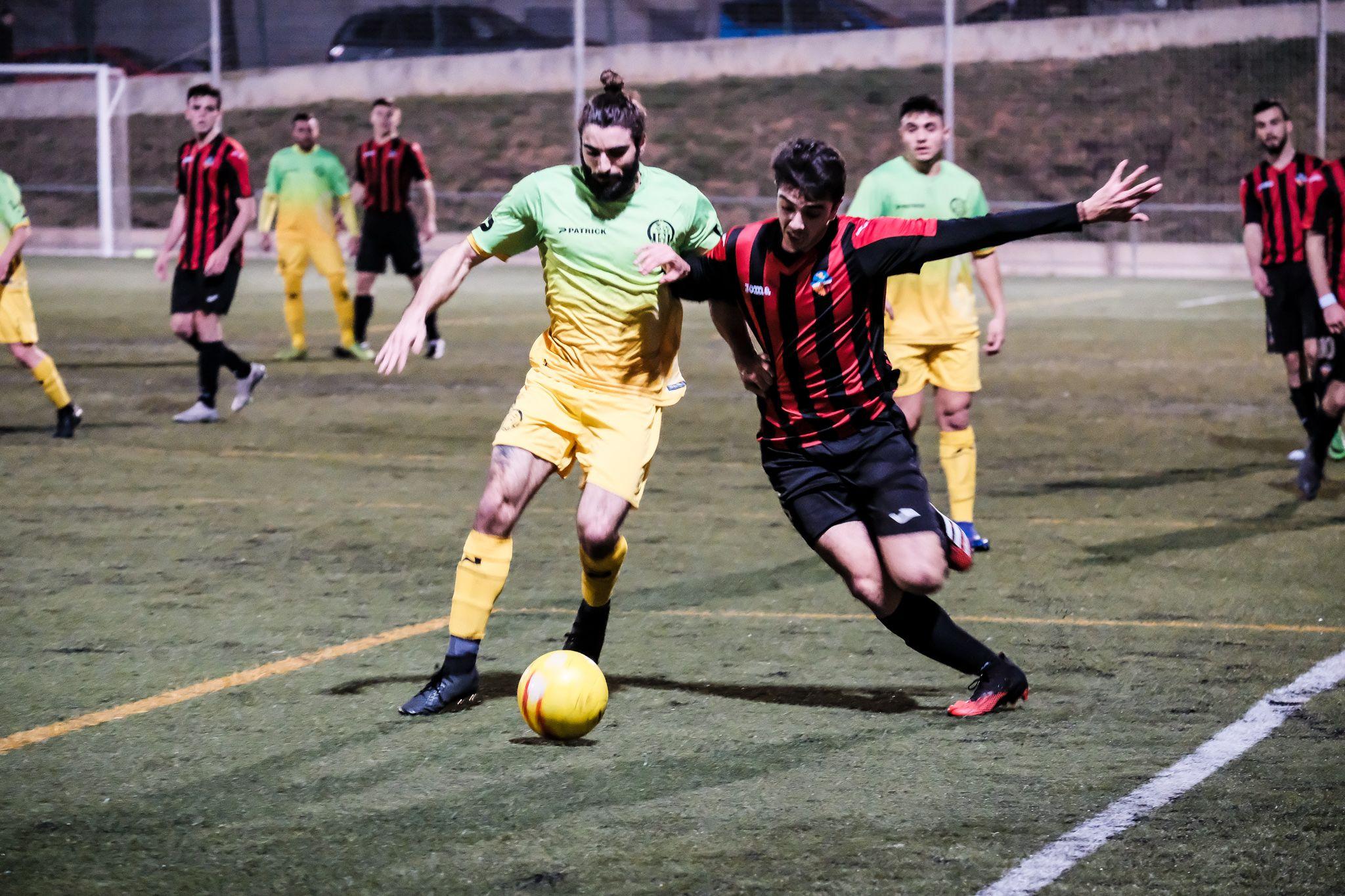 Partit de lliga, Sant Cugat F.C. - Can Buxeres F.C. FOTO: Ale Gómez