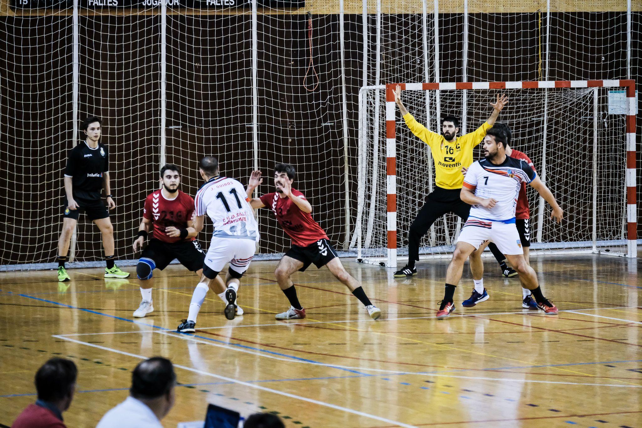 Partit 1a Nacional el C.H. Sant Cugat  contra C.H. La Salle Montcada. FOTO: Ale Gómez