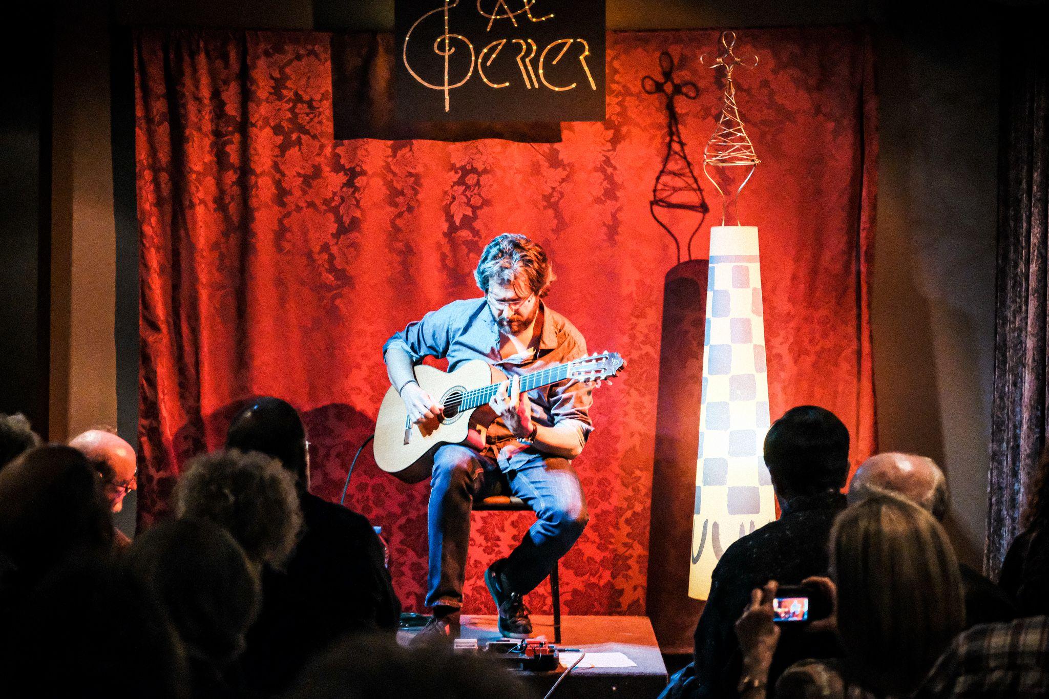 Concert d'Oriol Saltor a Cal Gerrer. FOTO: Ale Gómez
