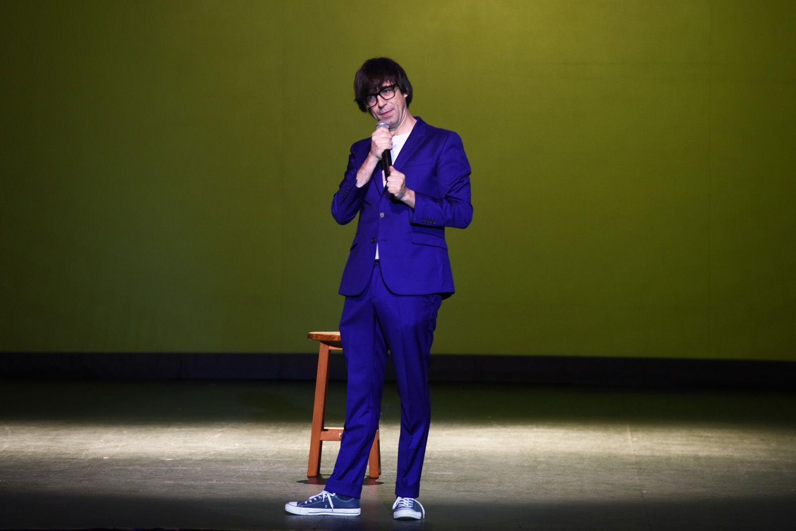 Luis Piedrahita al Teatre-Auditori. Foto: Bernat Millet.
