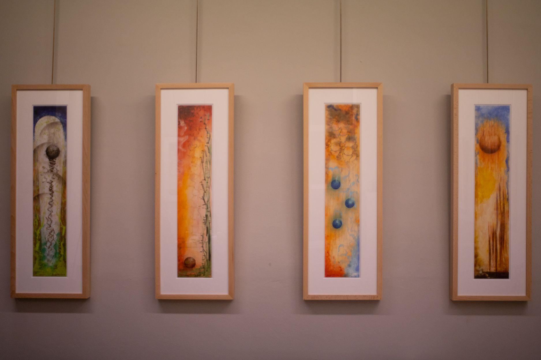 Exposició Lluis Ribas. Foto: Adrián Gómez.
