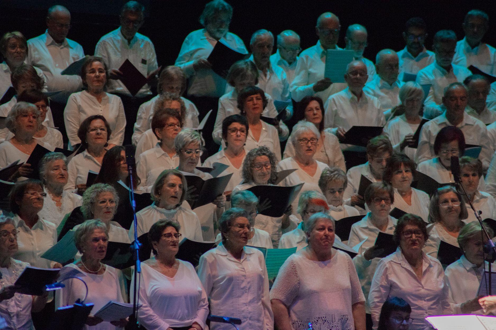 Canta Gran al Teatre –Auditori. Foto: Adrián Gómez