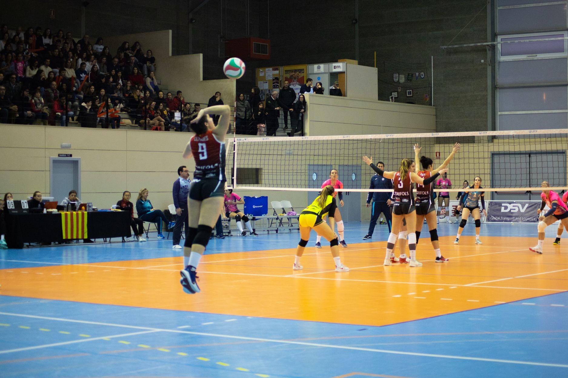 voDSV Club Voleibol Sant Cugat - AD Algar Surmenor. Foto: Adrián Gómez