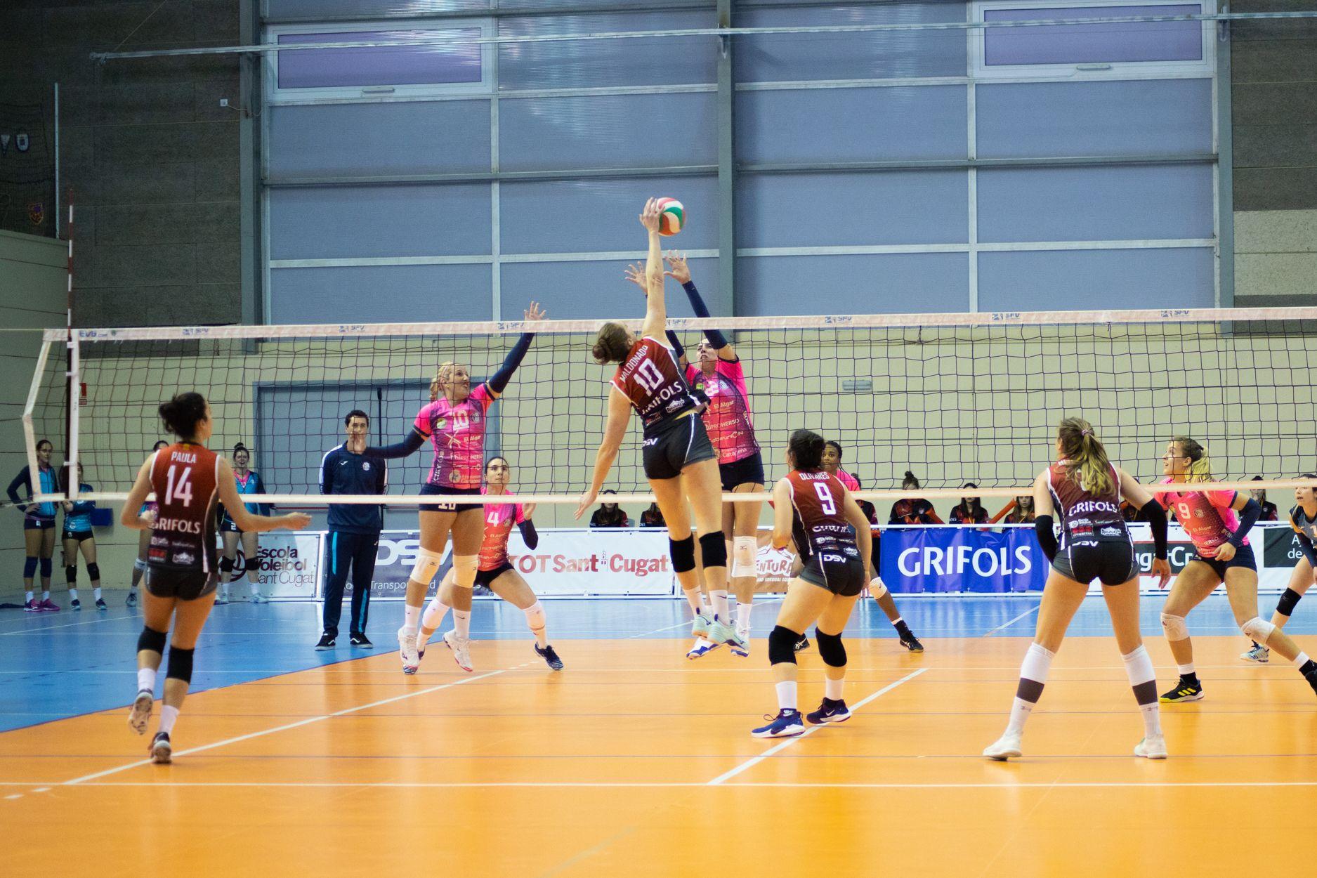 DSV Club Voleibol Sant Cugat - AD Algar Surmenor. Foto: Adrián Gómez