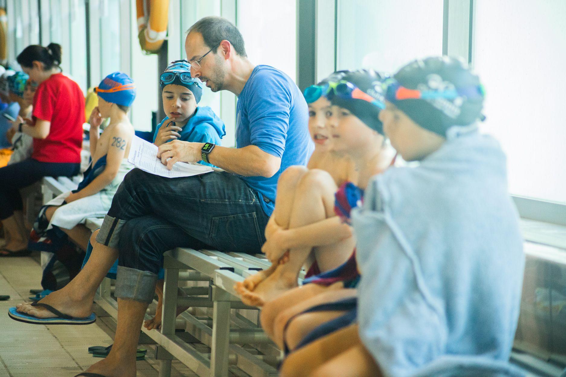 Campionat Natació Escolar. Foto: Adrián Gómez
