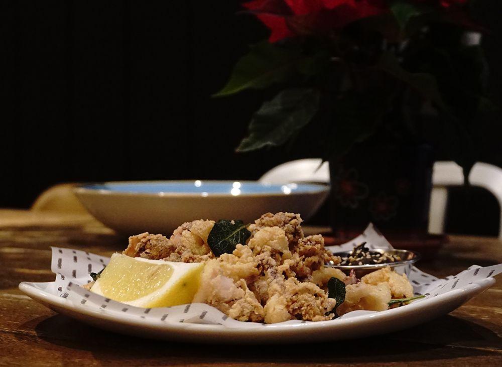 Els calamars a la romana FOTO: cedida
