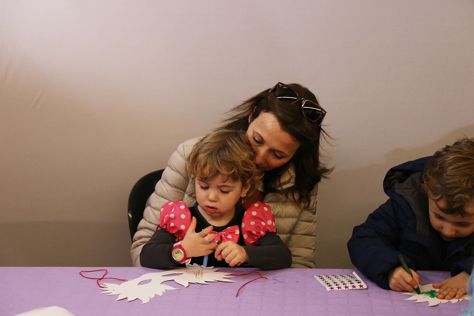 Tallers Infantils a Volpalleres. FOTO: Anna Bassa