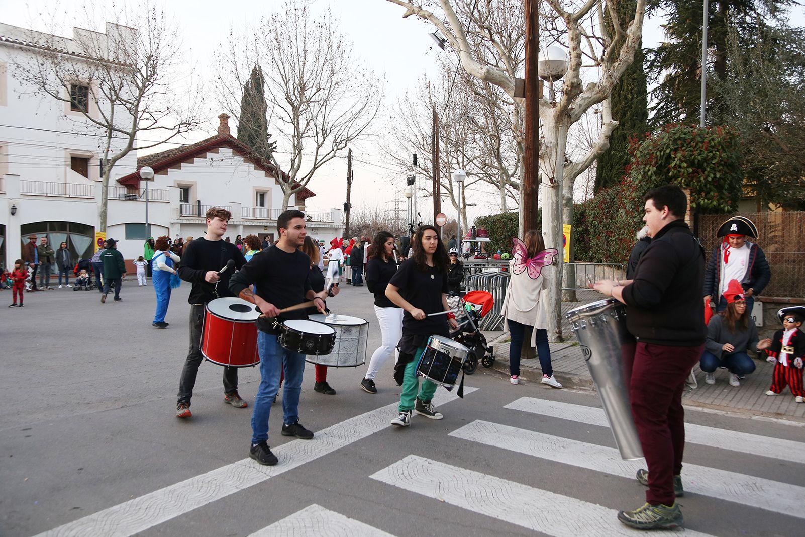 Rua de Carnaval a Mas Gener. FOTO: Anna Bassa