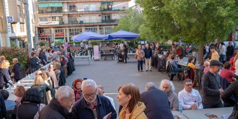 La Taula d'Escriptors se celebra el 23 de juliol a la plaça d'Octavià