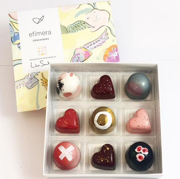 Les caixes de bombons FOTO: cedida