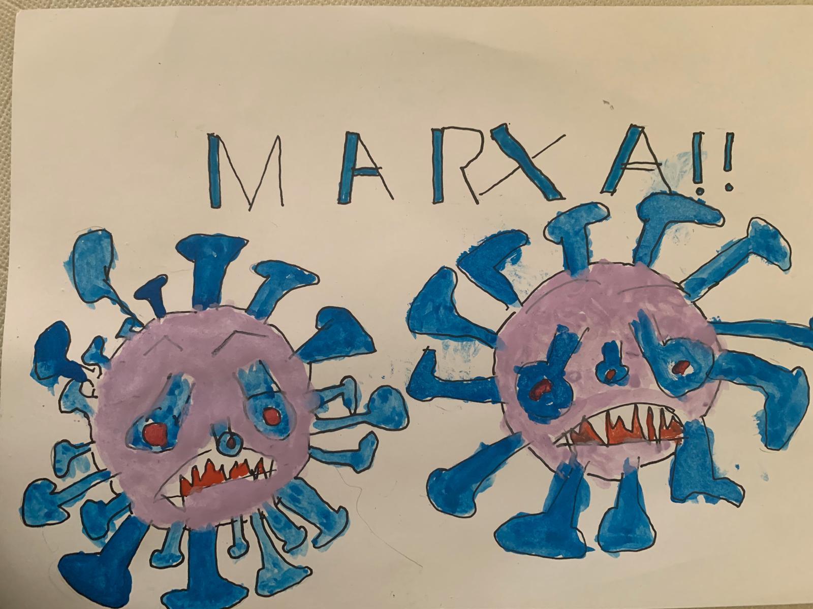Marxa coronavirus.