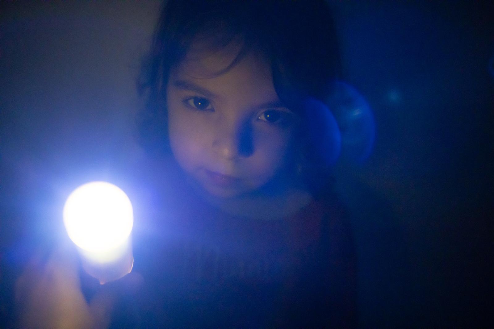 Jugant amb la llum.