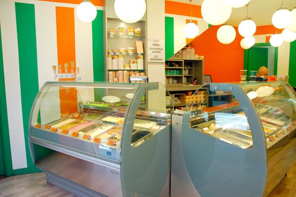Amplia oferta de gelats i torrons artesanals FOTO: cedida