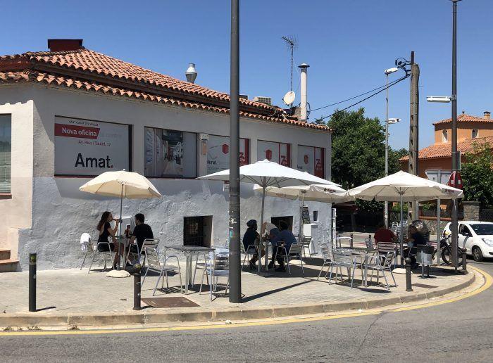Valldoreix permet l'ampliació de terrasses de bars i restaurants