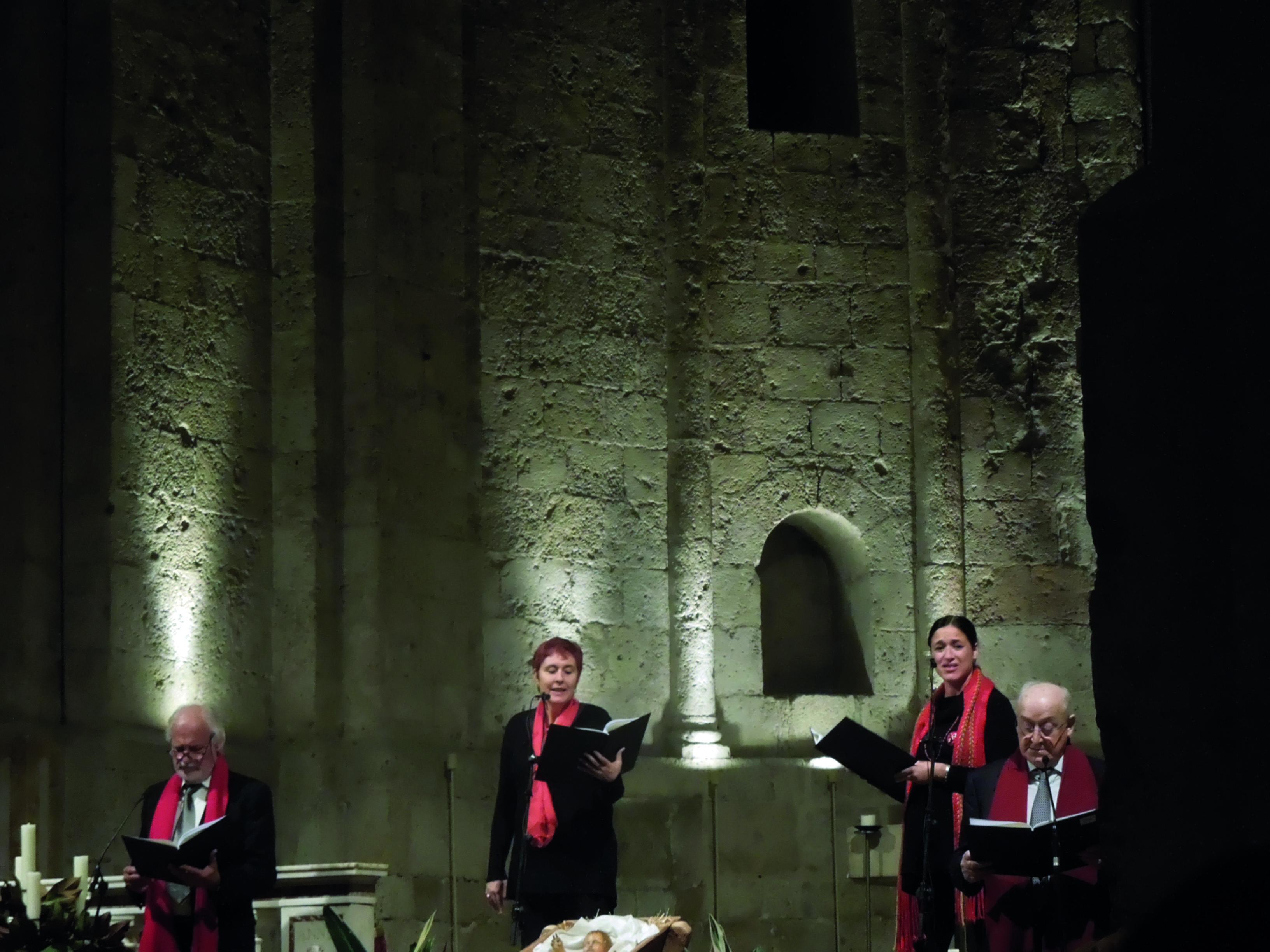 Nadal a casa, una de les activitats d'Òmnium Sant Cugat el 2016.