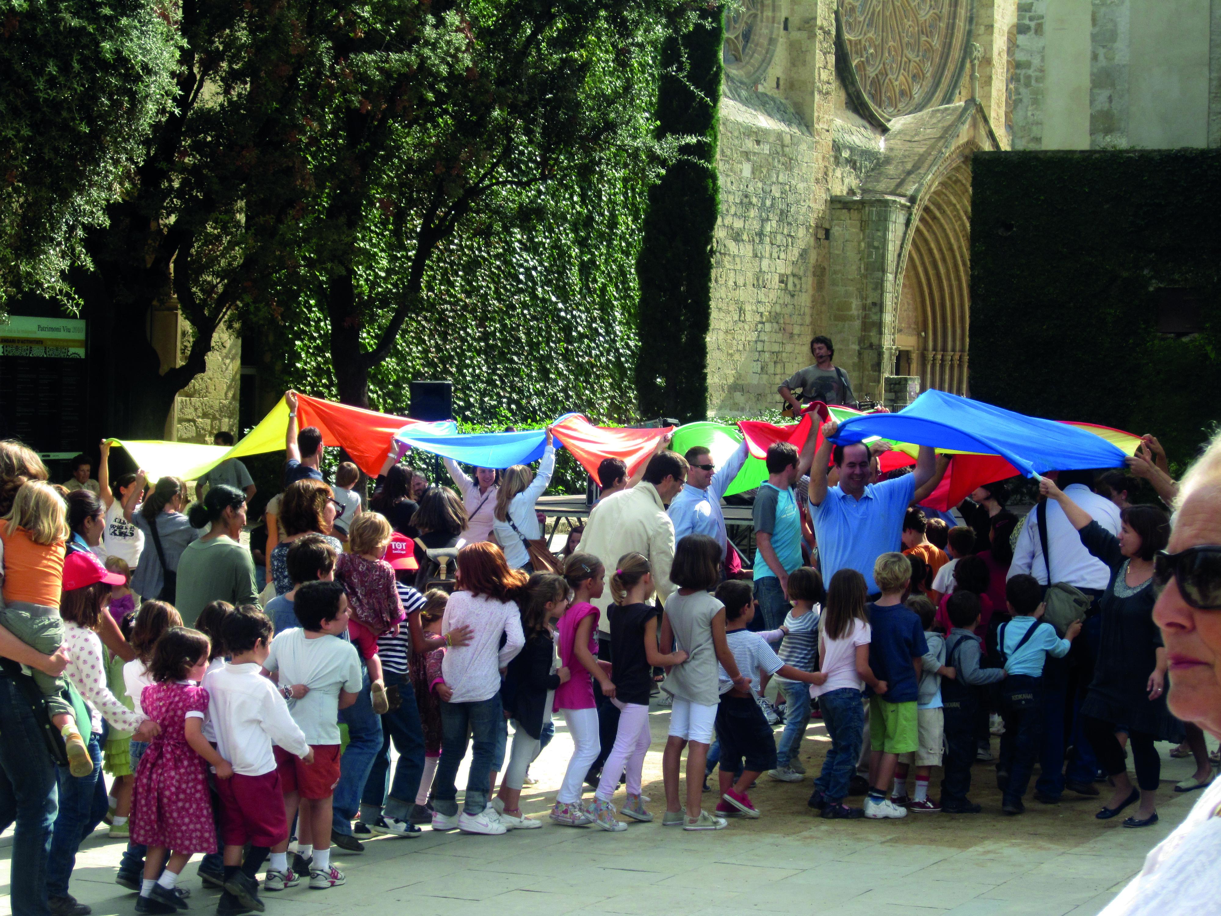 Una Festa Infantil del 2010 organitzada per l'entitat.