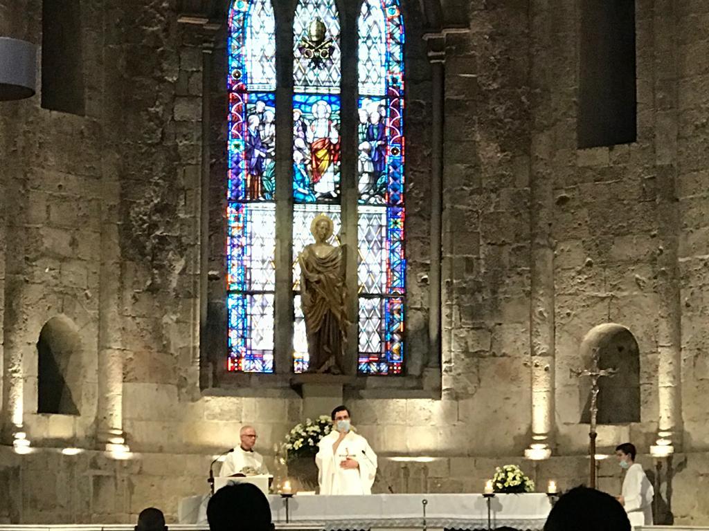 Emili Marlés ha realitzat l'ofici religiós.