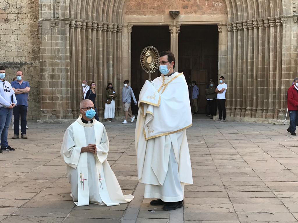 Emili Marlés ha beneït al poble.