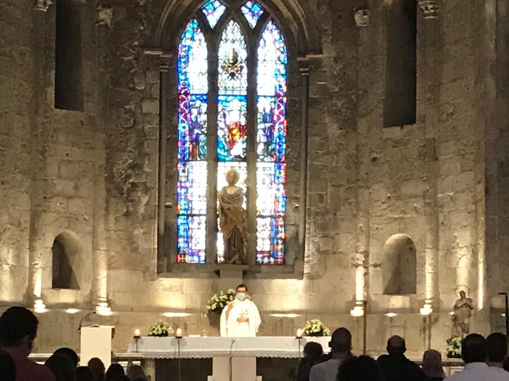 El Monestir ha acollit l'ofici del Corpus Christi.