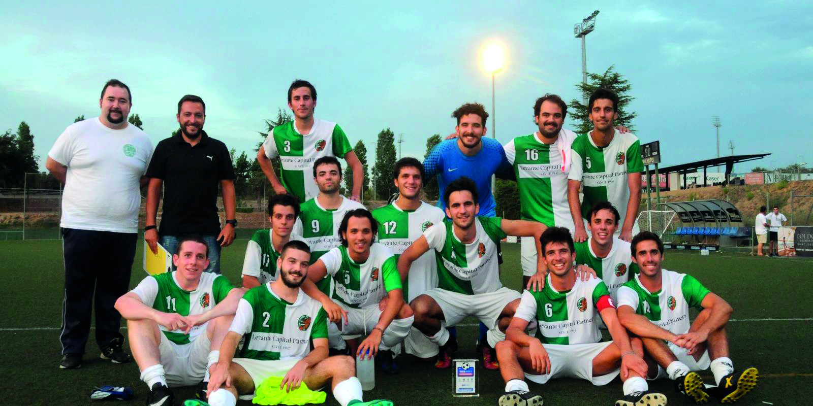 El Valldoreix FC va guanyar el  I Torneig del Centenari de futbol del Junior FC.
