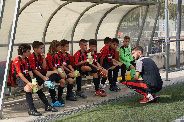 El futbol base és un dels pilars del club FOTO: Cedida