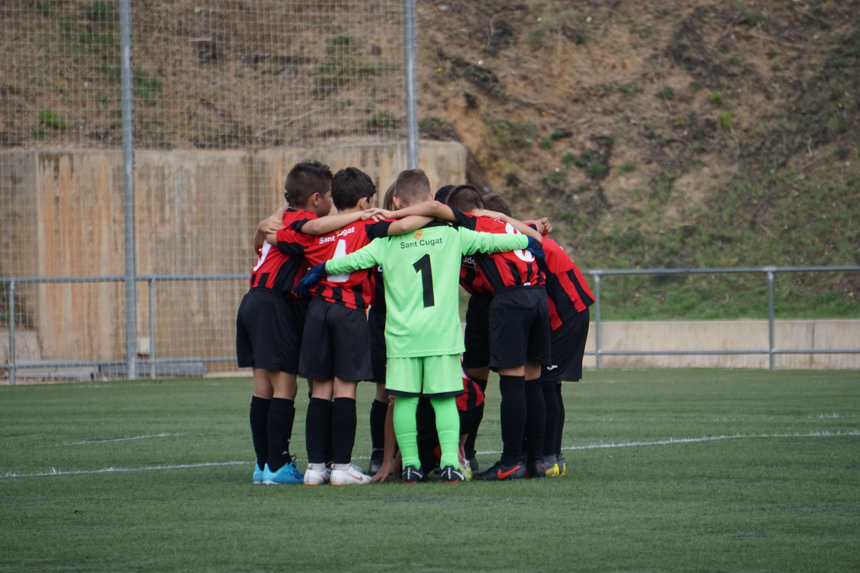 El Sant Cugat FC realitza una important tasca solidària, el SantCu-Índia FOTO: Cedida