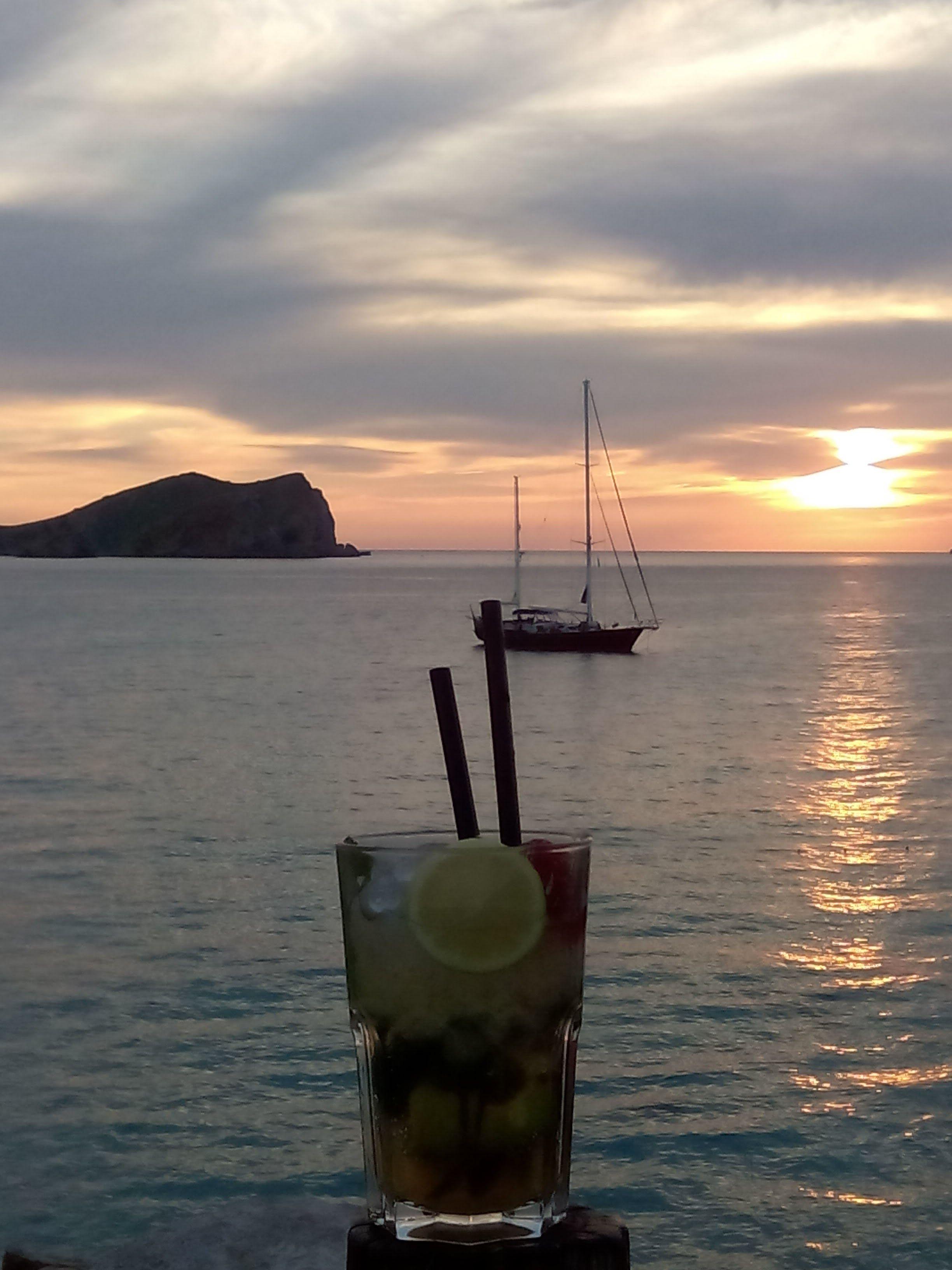 'Posta de sol a Eivissa amb Mojito' feta a Eivissa. FOTO: Paqui Lorenzo González