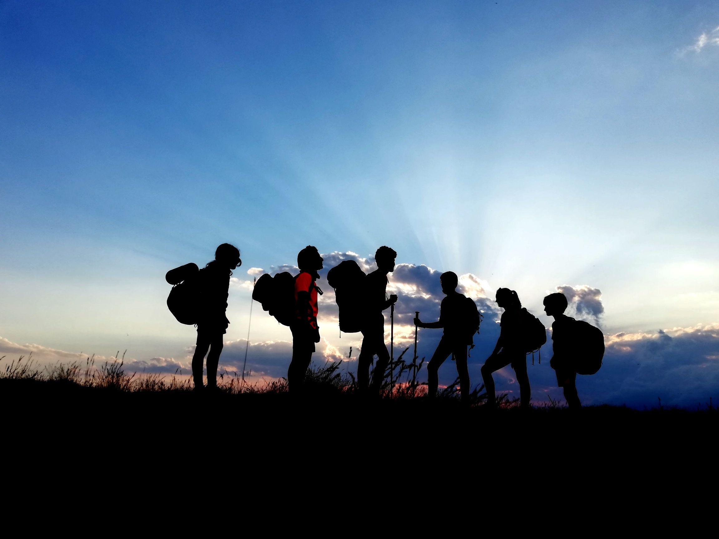 'Ruta amb aire celestial' - feta a cim del Taga. FOTO: Marta Marcet Sant