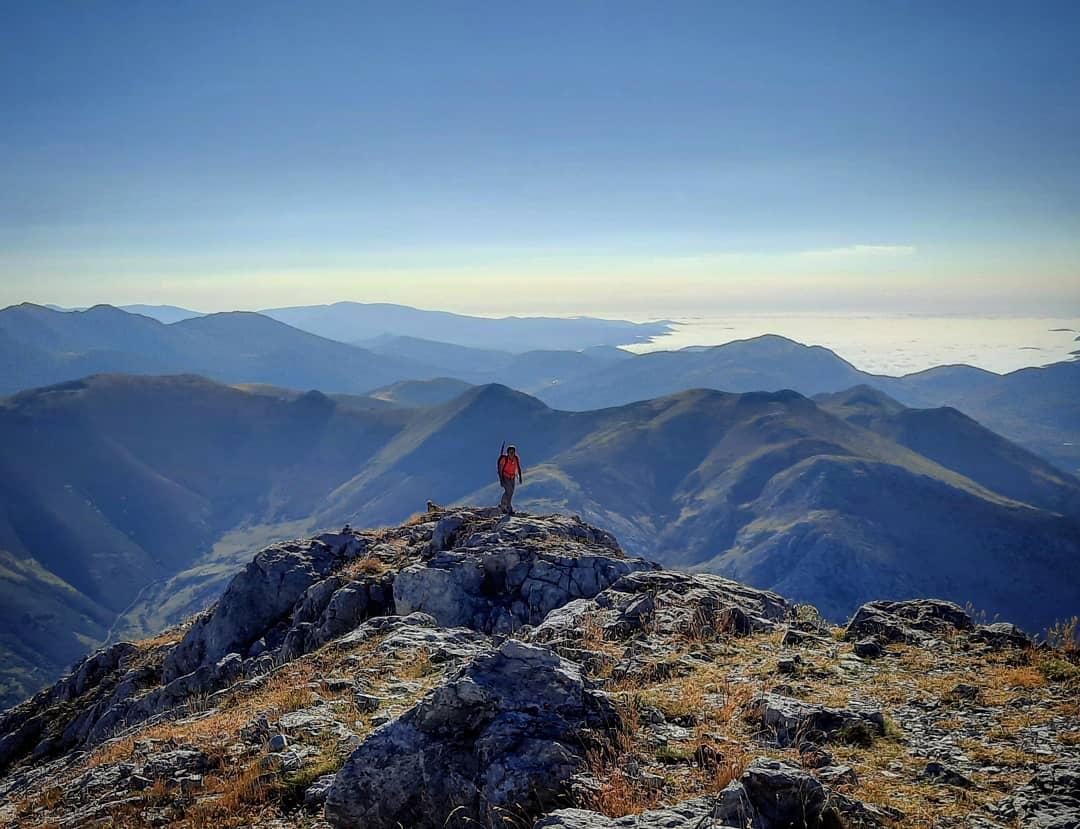 jh0264   Way to heaven. Pico Espigüete. Fuente Carrionas   Palencia