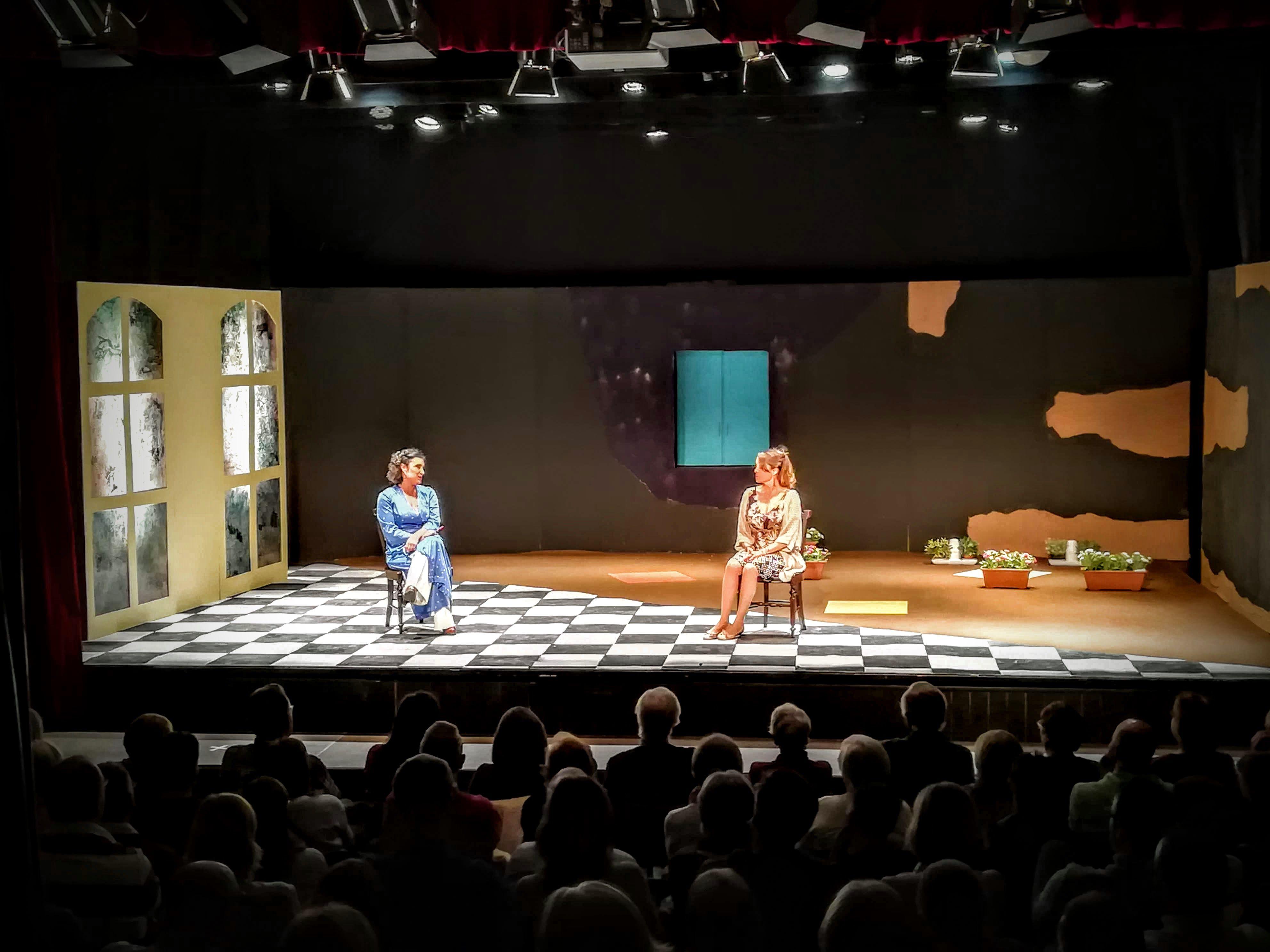 La companyia de teatre Fila Zero FOTO: Cedida
