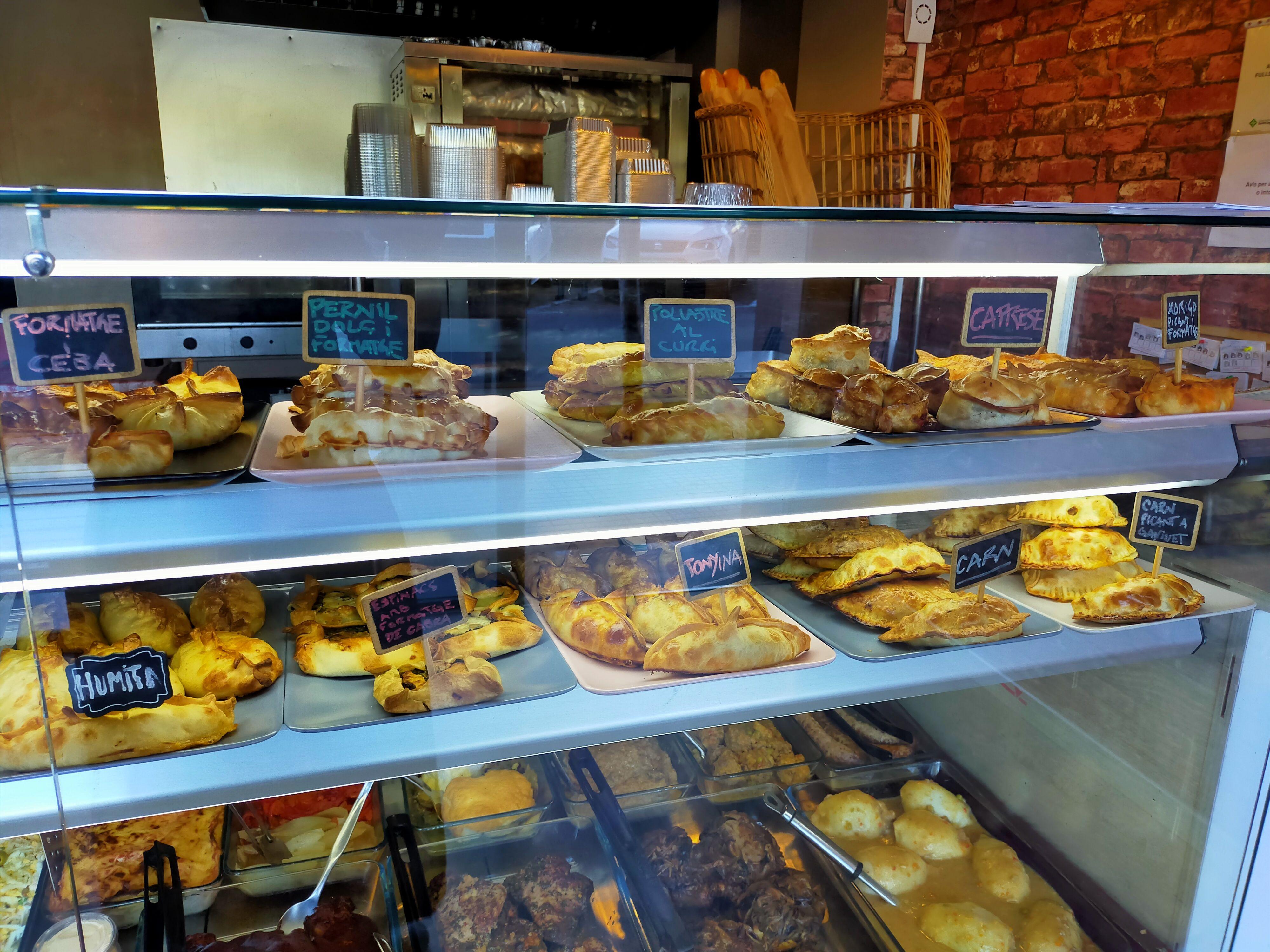 Àmplia selecció d'empanades argentines FOTO: Cedida