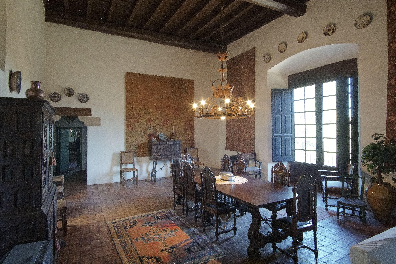 Saló principal de la masia de Torre Negra FOTOS: Quim Llop