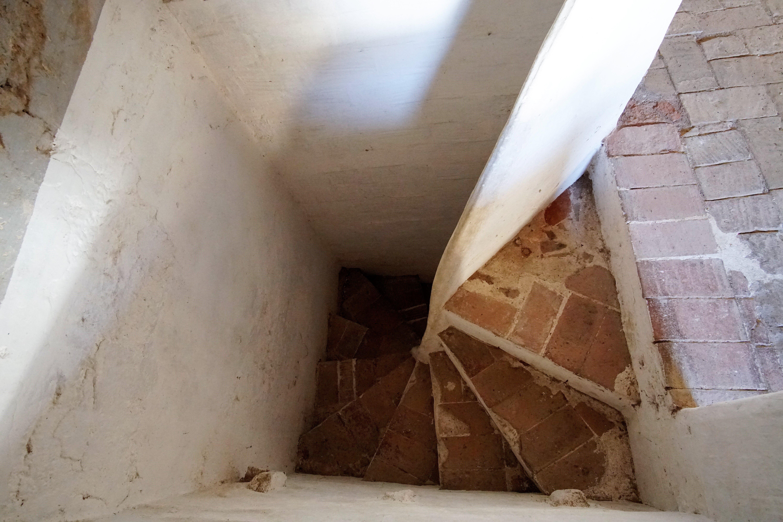 Escales de la masia de Torre Negra. FOTOS: Quim Llop