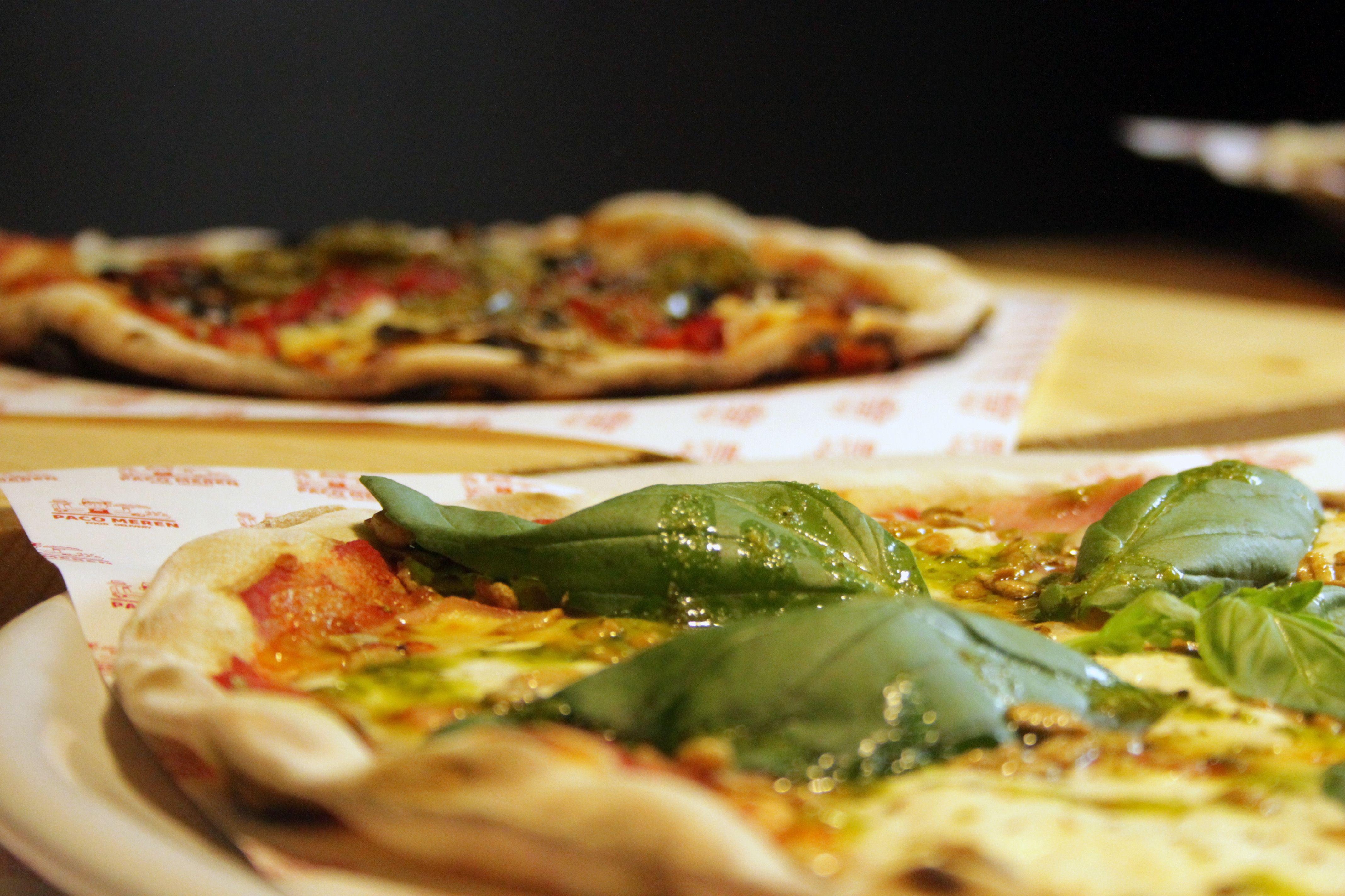 Pizzes artesanes i amb productes frescos FOTO: Cedida