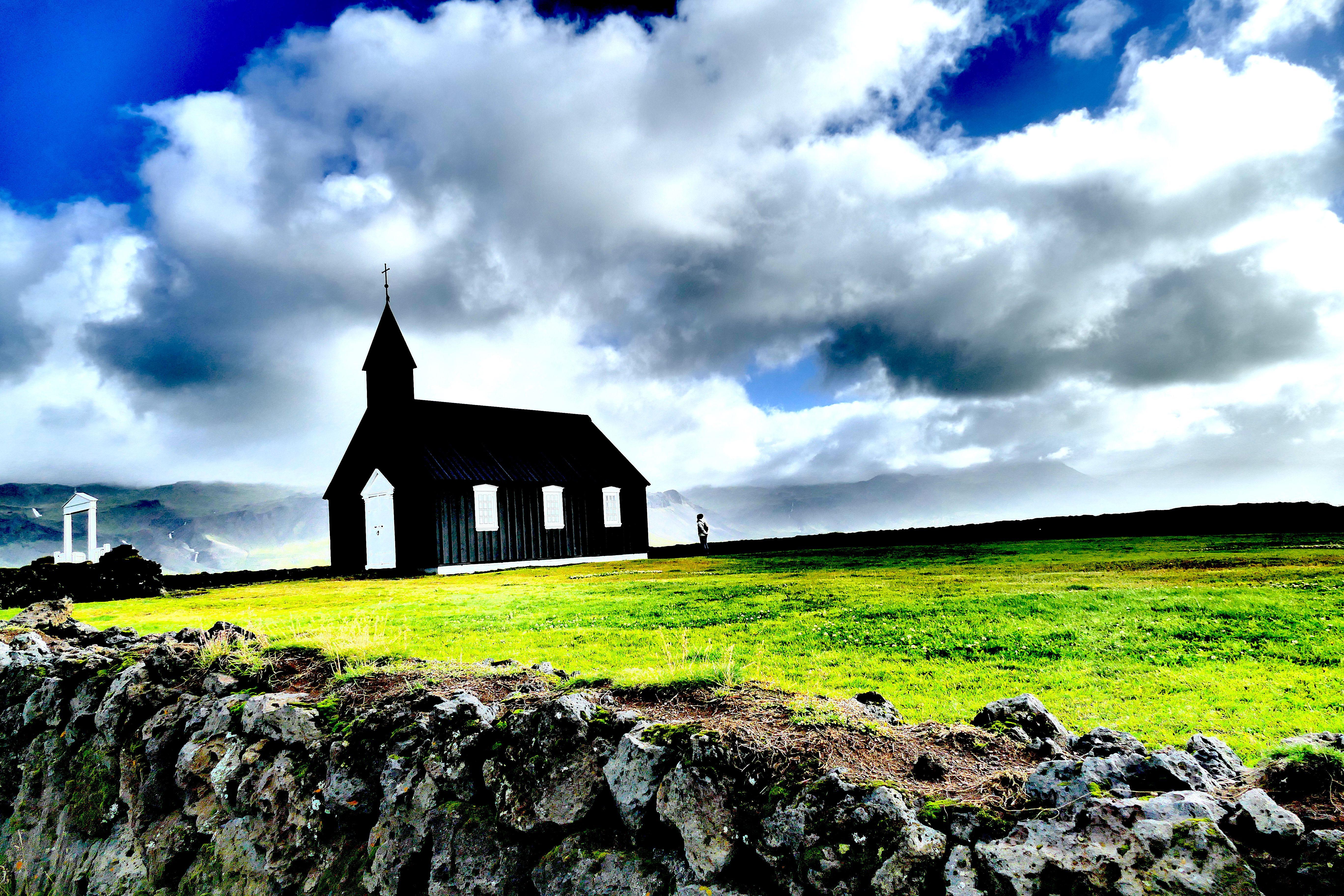 A les portes del cel Esglesia negra de Budir, Arnastapi. Islandia#Jesus Alonso Lopez 289