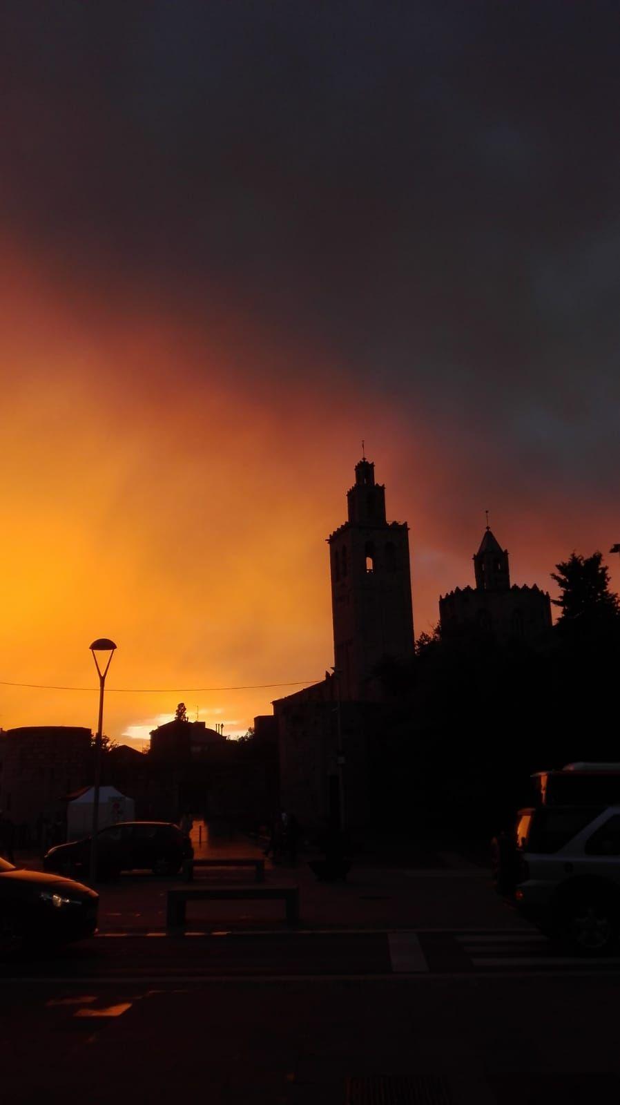 Anochecer Sant Cugat del Vallès#Julia Martinez 84