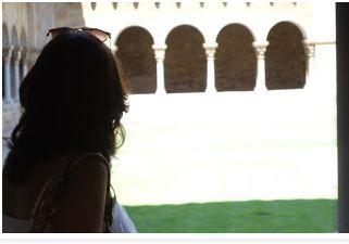 Arco y silueta: la belleza Claustro de Sant Cugat#arsenio rodriguez quintana 104