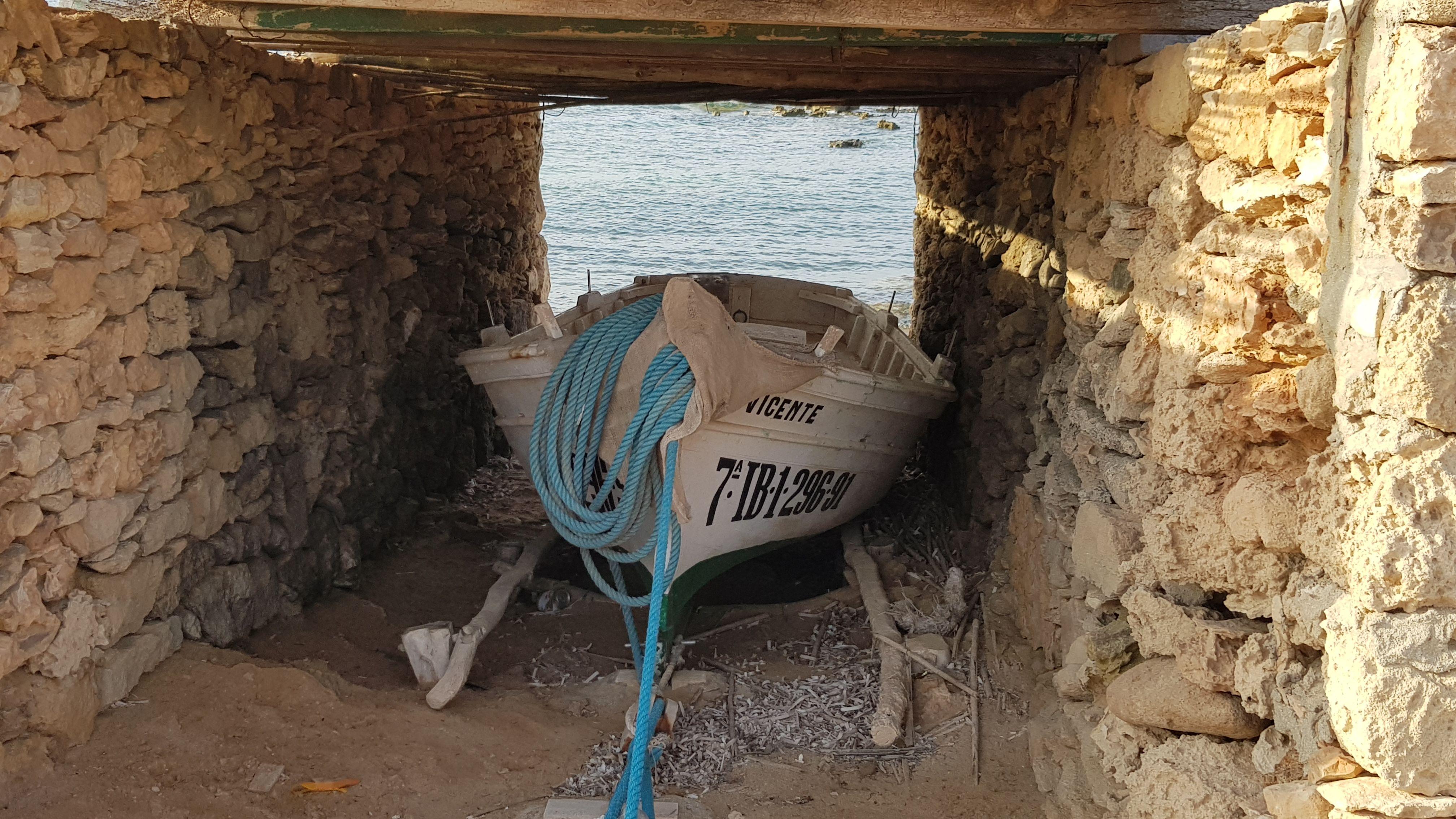 Barca Pescador. Formentera#Guillermo Trigueros Fernández 319