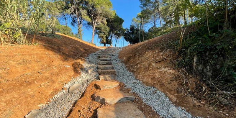 Valldoreix estrena un nou accés al camí del torrent d'en Nonell