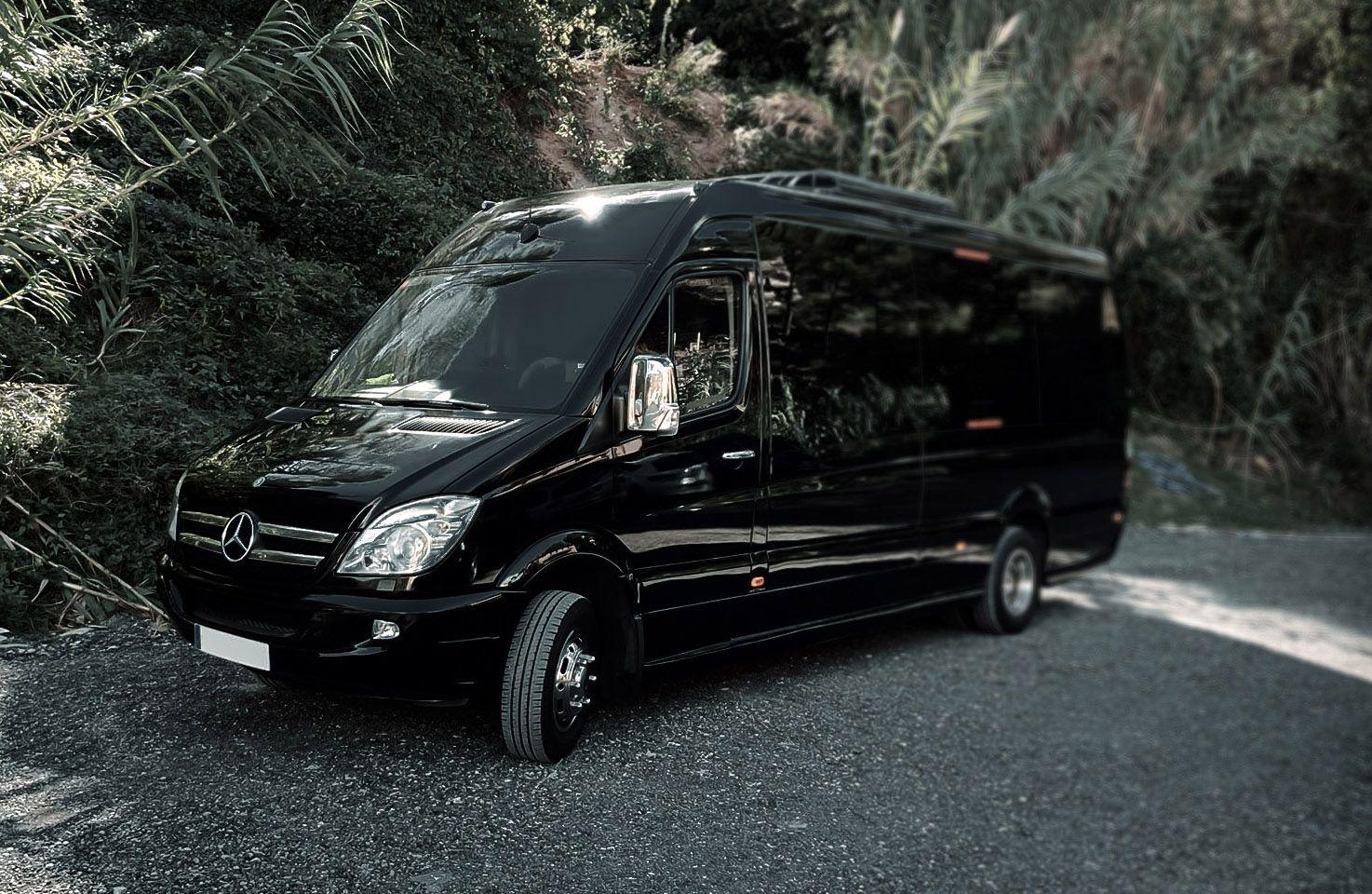 Gran varietat de vehicles VIP des de monovolums fins minibusos. FOTO: Cedida