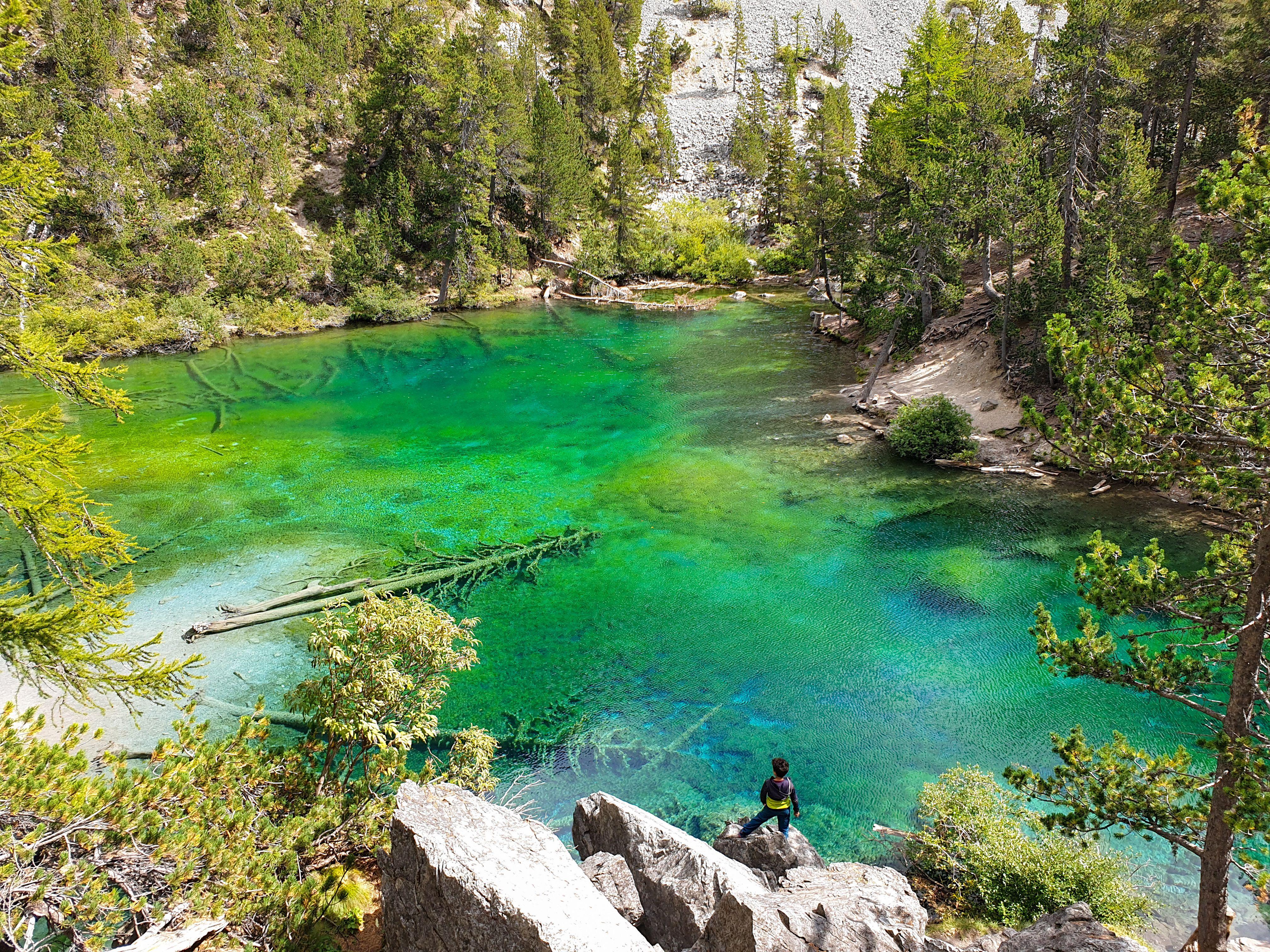 Les mil tonalitats de verd Lac Vert#Agustí Gasque 313