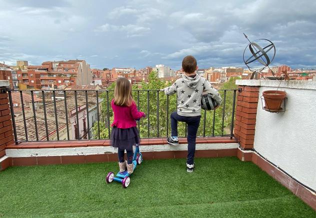 Els infants van passar setmanes tancats a casa sense poder sortir  cedida